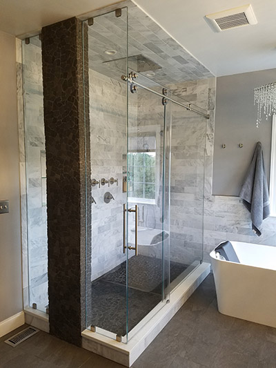 Custom sliding shower doors options master shower doors offers a full line of custom frameless sliding enclosures with several options and configurations a custom frameless sliding enclosure planetlyrics Gallery