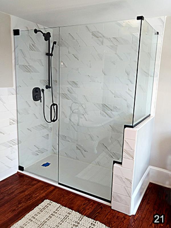 Custom Frameless Shower Door Store - Master Shower Doors